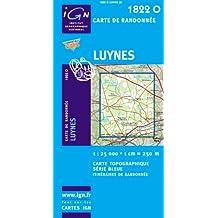 Carte de randonnée : Luynes