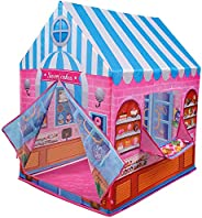 Popsugar Candy House Camp N Play Tent for Kids | Indoor or Outdoor, Foldable Tent, Portable, Multiclolor