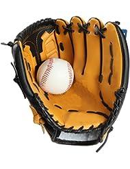 Gants De Baseball Gants En Cuir Enfants Balle Adulte