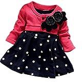Die besten Zeagoo Kleider für Mädchen - Zeagoo® Baby Mädchen Blumen Party Formal Taufe Hochzeit Bewertungen