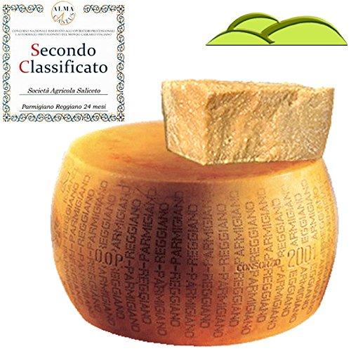 Parmigiano Reggiano g.U. vom Hügel, 'extra' Ein ganzes, 24 Monate gelagertes Käserad Gewicht 39 Kg...