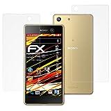 atFolix Folie für Sony Xperia M5 Displayschutzfolie - 3er Set FX-Antireflex-HD hochauflösende entspiegelnde Schutzfolie