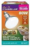 Ardacia SMA80E27 D3 Basking Lamp, 80 W