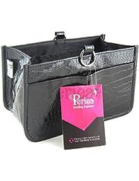 Periea - Organiseur de sac à main, 15 Compartiments - Claire (Noir)