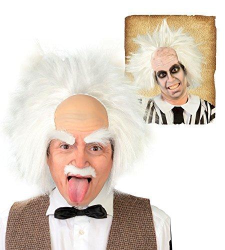 77 - Einstein-Perücke (BOX CONTAINER) (Einstein Perücke Kostüme)