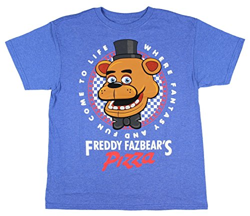 FIVE NIGHTS AT FREDDY'S - Canotte - Bambino Royal Blue x-large
