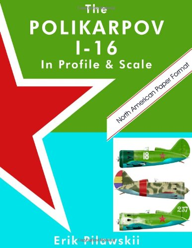 The Polikarpov I-16 In Profile & Scale