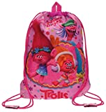 Trolls Happy Mochila Infantil, 40 cm, 1.2 litros, Rosa