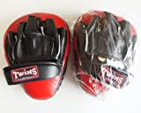 Twins–Guantes de boxeo PML 15–Rojo, Golpeo