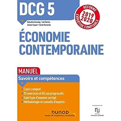 DCG 5 Economie contemporaine - Manuel - Réforme 2019-2020: Réforme Expertise comptable 2019-2020