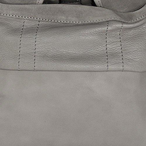 Marc OPolo Sixteen borsa a spalla pelle 35 cm hellgrau, grau