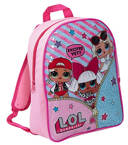 LOL Surprise Mochila Escolar niñas Excited Yet? Talla