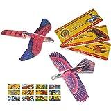 Styroporflieger Vogel - Flieger aus Styropor - Vögel zum Werfen Wurfgleiter z.B. für Kindergeburtstag - Styroporvogel / Styroporflugzeug - Adler Geier Tauben