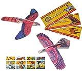 10 Stk. Styroporflieger Vogel - Flieger aus Styropor - Vögel zum Werfen Wurfgleiter z.B. für Kindergeburtstag - Styroporvogel