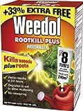 Weedol Rootkill Plus Weedkiller Liquid Concentrate, 6 Plus 2 Tubes Free