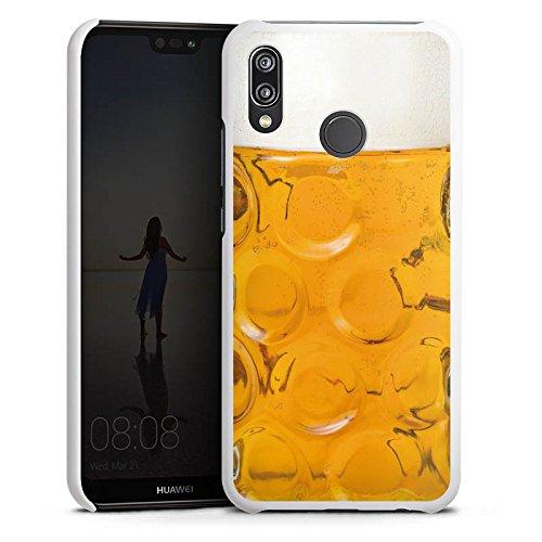 Huawei P20 Lite Hülle Case Handyhülle Bier Glas Stein Masskrug