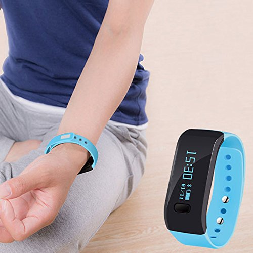 Up Smart Sport Armband Smart Watch Armband-Bluetooth SmartWatch Band unterstützen Android iOS Sleeping Erkennung Intelligente Antiverlust Smart Watch für Herren...