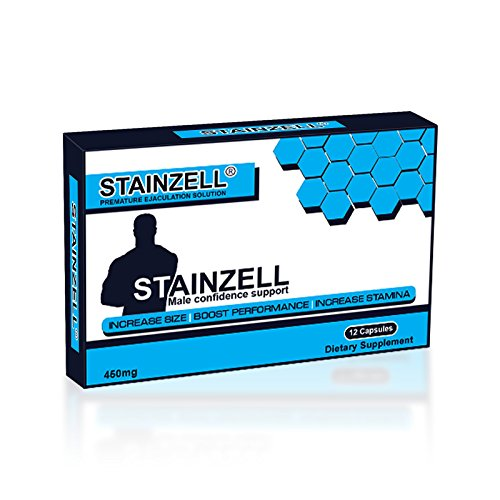 Stainzell Male Orgasm Control - Premature Ejaculation Delay Pills - Herbal Orgasm Delay Supplement - 12 (Capsules) Test