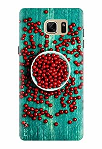 Noise Designer Printed Case / Cover for Samsung Galaxy Note7 / Graffiti & Illustrations / Cherry On Wood