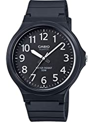 Casio Herren-Armbanduhr Collection Analog Quarz Resin MW-240-1BVEF
