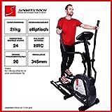 Sportstech CX630 Profi Crosstrainer Elliptical mit elliptischem Bewegungsablauf