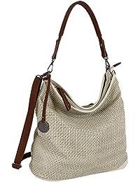 ef70f5023bd05 Jennifer Jones Damen Tasche Schultertasche Große Umhängetasche in 5 Farben  Handtasche für Frauen Sommer Design.