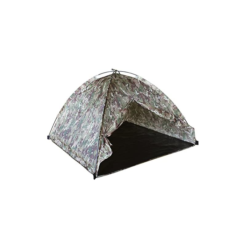 Kombat UK Lightweight Play Kids' Outdoor Dome Tent available in British Terrain Pattern – 3 Persons
