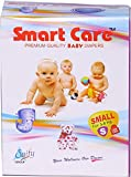 Saify Healthkart presents Smart Care super absorbent, skin friendly, premium quality small size baby diaper 90 Pcs