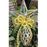 PartyHut Christmas Tree Bell Decoration Silver Christmas New Year Wall Door Hanging Bell Wind-bell Decoration - Pack Of 1(Golden Colour)