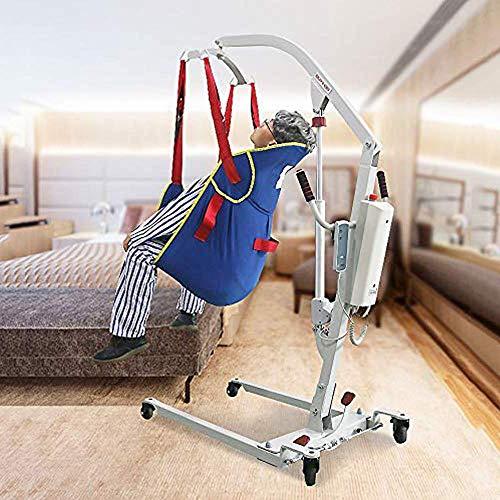 51oNyK2%2B25L - ZIHAOH Elevación Paciente De Cuerpo Completo con Soporte De La Cabeza, para Bed Posicionamiento De Cargas - Bariátrica para Discapacitados Elevador para Enfermería, Cuidadores, Ancianos
