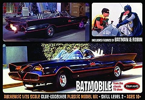 1966 BATMAN BATMOBILE 1/25 SCALE MODELLBAUSATZ MODEL KIT