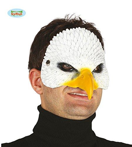 Guirca Adler Vogel Latex Maske Halloween Horror Halloweenmaske Vogelmaske Tiermaske