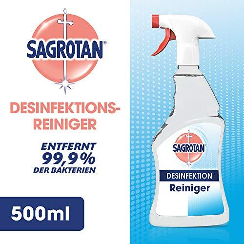 Sagrotan Desinfektion Reiniger, Desinfektion, 500 ml, 1er Pack (1 x 500 ml)