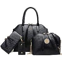 Coofit Moda Borse Donna PU in Pelle Borsetta Tote Bag