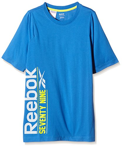 Reebok Boy's SP B T-Shirt Graphic bleu