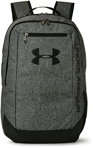 Under Armour UA Hustle Backpack Ldwr Mochila, Hombre, Gris Graphite/Black 041, Talla única