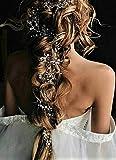 Gracewedding, forcine per capelli ad effetto rampicante, per acconciature da sposa, alla moda, accessori per capelli in cristallo