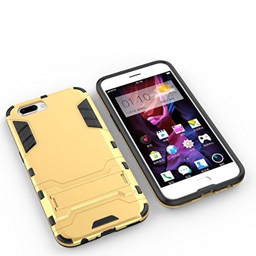 Honor 6A Hülle,EVERGREENBUYING Abnehmbare Hybrid Schein DLI-AL10 Tasche Ultra-dünne Schutzhülle Case Cover mit Ständer Etui für Huawei Honor 6A (2017) Rot Saphir