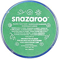 Snazaroo Face and Body Paint, 18 ml - Bright Green (Individual Colour)