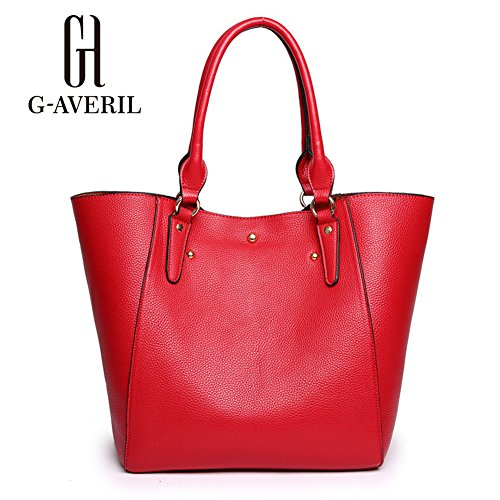 G-AVERIL, Borsa a mano donna rosso Red Red