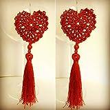 Orecchini crochet: Cala Rossa