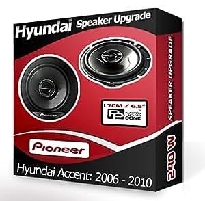 Hyundai Accent haut-Parleur de porte avant pour Pioneer 17 cm 240 W kit de haut-Parleurs de voiture