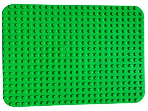 platte Große Bauplatte 38.5 cm X 27 cm grundplatte 24 x 17 Noppen dunkel grün