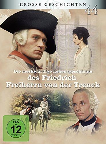 Bild von Die merkwürdige Lebensgeschichte des Friedrich Freiherrn von der Trenck - Große Geschichten - Neuauflage [3 DVDs]