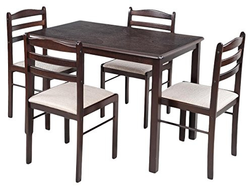 Royal Oak Hunter Four Seater Dining Table Set (Black)