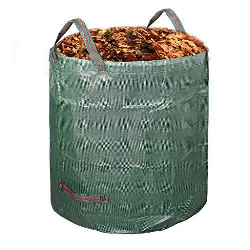 Sac de poubelle de patio, jardinage polyvalent imperméable anti-déchirure avec sac de feuille verte nettoyable, vert (67 * 76CM) patio (taille : 67 * 76CM)