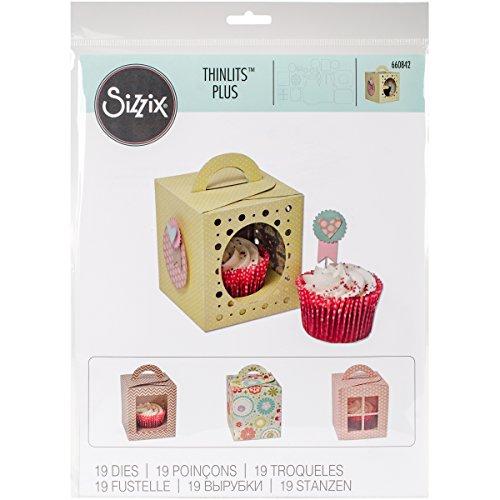 Sizzix Bigz Pro Fustella, Scatola Cupcake