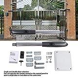 apricancello bianta,Automazione per cancelli a battente elettromeccanica,Kit per cancello battente fino a 3 mt per anta (motore+scatola di controllo)
