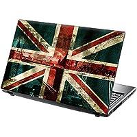 "TaylorHe Laptop Skin Pegatina de vinilo Adhesivo para Portátiles 15,6"" 15"" (38cm x 25.5cm) Productos de Gran Bretaña Union Jack, londres"