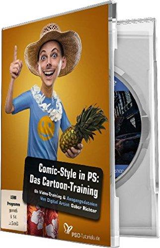 Comic-Style-Das-Cartoon-Training-fr-Photoshop-WinMac